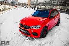 BMW X5M F85 - Bright Red