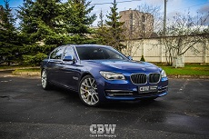 BMW M7 - Deep Blue Metallic