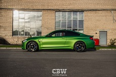 BMW M4 - Apple Green