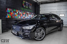 Infinity Q50 - Suntek Protection