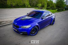 BMW M235 - Satin Mystique Blue