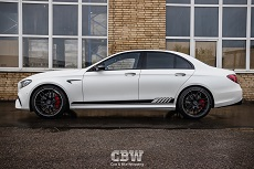 MB E63s AMG - Hexis Matte Protection