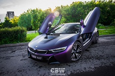 BMW i8 - Matte Purple Black Iridescent