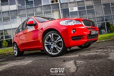 BMW X5 E70 - Bright Red