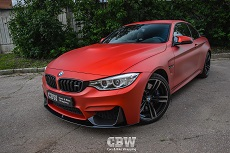 BMW M4 F83 - Transparent Matte