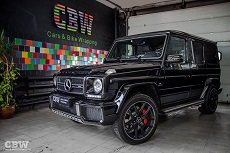 Mercedes-Benz G63 AMG - Protection by Suntek PPF