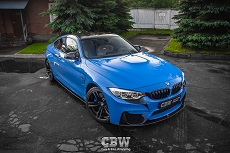 BMW M4 F82 - Suntek Protection