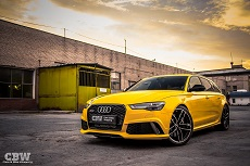 Audi RS6 Facelift - Exclusive Yellow Gloss