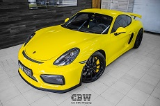 Porsche Cayman GT4 - Suntek Protection