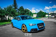 Audi RS5 - Gloss Intense Blue