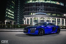 Audi R8 - Dark Blue Chrome
