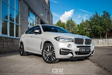 BMW X6 M50D - Transparent Matte