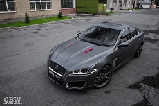 Jaguar XF'R Supercharged - Oracal 970 series Matte Anthracite
