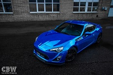 Toyota GT86 - Blue Chrome