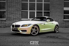 BMW Z4 E89 - Pacific Blue White Starlight