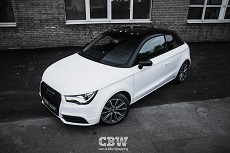 Audi A1 - Black & White Edition