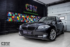BMW 5 series F10 - Black styling