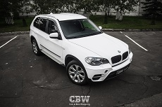 BMW X5 - White Gloss