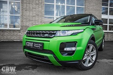 Land Rover Evoque - Avery Apple Green Matte + Styling