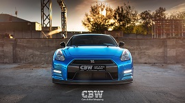 Nissan GT-R - Blue Chrome
