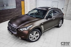 Infinity QX70 - Matte Java Brown
