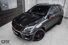 MB ML 63 AMG - Avery Satin Black