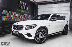 MB GLC Coupe - Black styling
