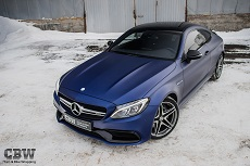 MB C Coupe 6.3 AMG - Transparent Matte