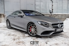 MB S Coupe 6.3 AMG - Transparent Matte