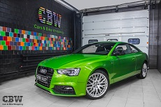 Audi A5 Coupe - Suntek protection