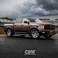 Dodge RAM 1500 - Matte Brown