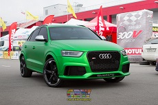 Audi Q3 RS - Green Matt Chrome
