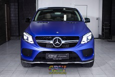 Mercedes-Benz - Matte Metallic Brilliant Blue