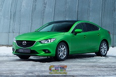 Mazda 6 - Green Matte Chrome