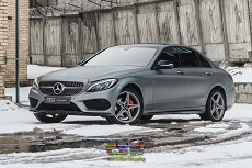 Mercedes-Benz C-Classe - Transparent Matte