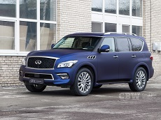 Infinity QX80 - Avery Night Blue Matte