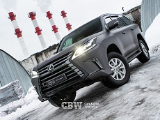 Lexus LX570 - Avery Charcoal