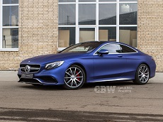 Mercedes-Benz S Coupe - Avery Brilliant Blue Matte Metallic