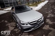 MB E63 AMG - Transparent Matte