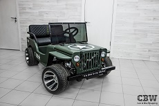 JEEP Mini - Military style
