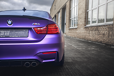 BMW M4 - Avery Purple Matte Metallic