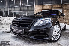 MB Maybach W222 - Black Styling