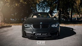 BMW 3 series - Black Matte