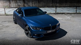 BMW 4 series - Matte Trenton Blue