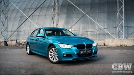 BMW 3 series - Gloss Atomic Teal