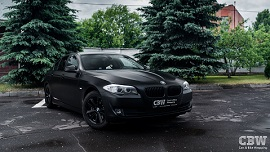 BMW 5 series - Black Satin