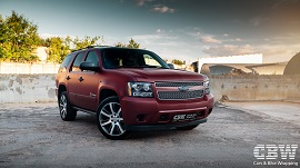 Chevrolet Tahoe - Red Brown Matte Metallic