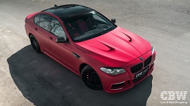 BMW 5 series - Cherry Matte Metallic