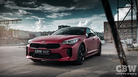 KIA Stinger - Red Brown Matte Metallic