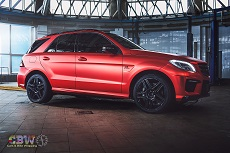 MB ML63 - Red Orange Matte Chrome